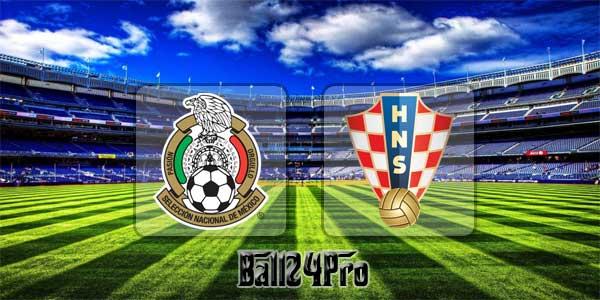 ไฮไลท์ฟุตบอล กระชับมิตร เม็กซิโก 0-1 โครเอเชีย 28-3-2018