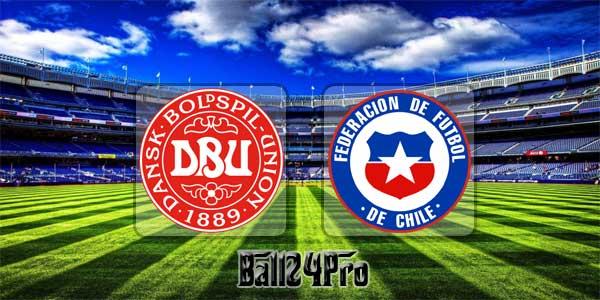 ไฮไลท์ฟุตบอล กระชับมิตร เดนมาร์ก 0-0 ชิลี 27-3-2018