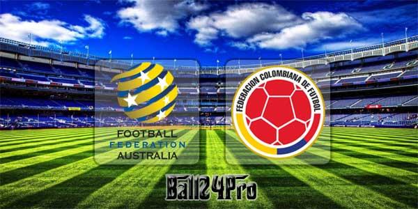 ไฮไลท์ฟุตบอล กระชับมิตร ออสเตรเลีย 0-0 โคลัมเบีย 27-3-218