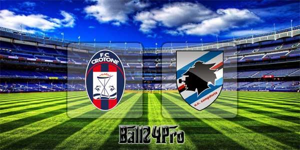 ไฮไลท์ฟุตบอล เซเรียอา โครโตเน่ 4-1 ซามพ์โดเรีย 11-3-2018