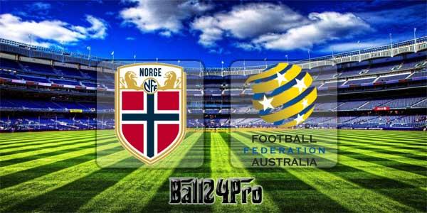 ไฮไลท์ฟุตบอล กระชับมิตร นอร์เวย์ 4-1 ออสเตรเลีย 23-3-2018