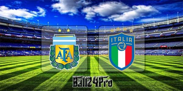 ดูบอลย้อนหลัง กระชับมิตร อาร์เจนตินา vs อิตาลี 23-3-2018