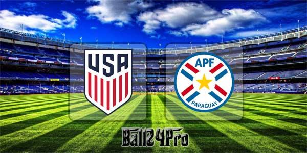 ไฮไลท์ฟุตบอล กระชับมิตร สหรัฐอเมริกา 1-0 ปารากวัย 28-3-2018