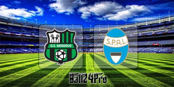 ไฮไลท์ฟุตบอล เซเรียอา ซัสเซาโล่ 1-1 สปอล 2013 11-3-2018