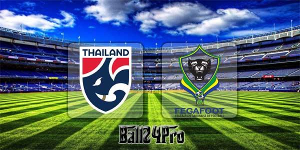 ดูบอลย้อนหลัง คิงส์คัพ ครั้งที่ 46 ไทย vs กาบอง 22-3-2018