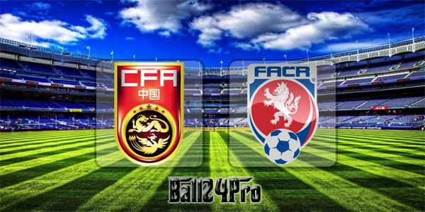 ไฮไลท์ฟุตบอล ไชน่า คัพ จีน 1-4 สาธารณรัฐเช็ก 26-3-2018
