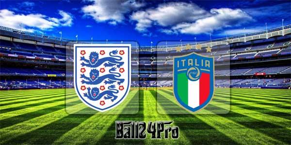 ดูบอลย้อนหลัง กระชับมิตร อังกฤษ vs อิตาลี 27-3-2018