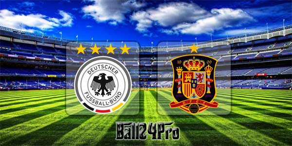 ดูบอลย้อนหลัง กระชับมิตร เยอรมนี vs สเปน 23-3-2018