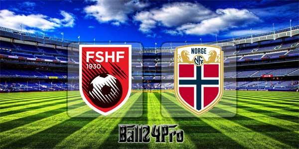 ไฮไลท์ฟุตบอล กระชับมิตร แอลเบเนีย 0-1 นอร์เวย์ 26-3-2018