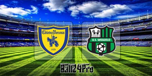 ไฮไลท์ฟุตบอล เซเรียอา คิเอโว่ 1-1 ซาสซูโอโล่ 4-4-2018