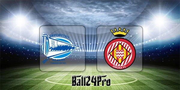 ไฮไลท์ฟุตบอล ลาลีกา อลาเบส 1-2 คิโรน่า 19-4-2018