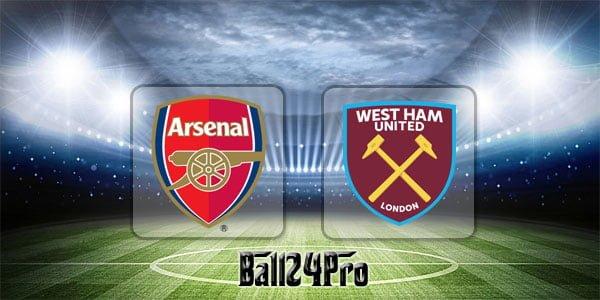 ดูบอลย้อนหลัง พรีเมียร์ลีก อาร์เซนอล vs เวสต์แฮม 22-4-2018