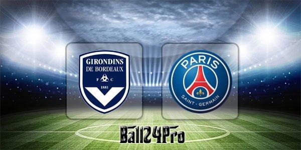 ดูบอลย้อนหลัง ลีกเอิง บอร์กโดซ์ vs ปารีสแซงต์แชร์กแมง 22-4-2018