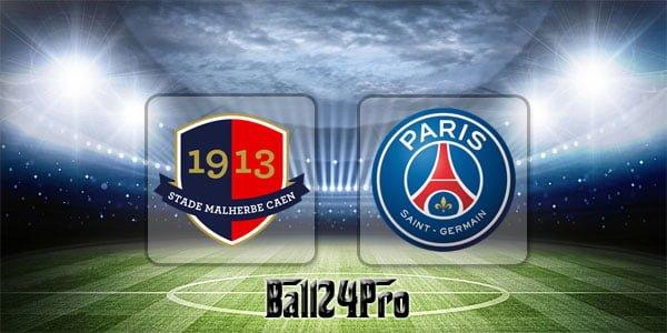 ดูบอลย้อนหลัง เฟรนช์คัพ ก็อง vs ปารีส แซงต์แชร์กแมง 18-4-2018
