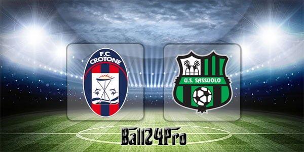 ไฮไลท์ฟุตบอล เซเรียอา โครโตเน่ 4-1 ซาสซูโอโล่ 29-4-2018