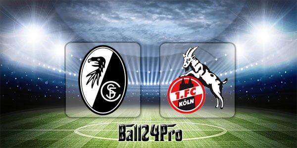 ไฮไลท์ฟุตบอล บุนเดสลีกา ไฟรบูร์ก 3-2 โคโลญจน์ 28-4-2018