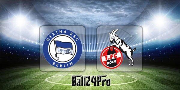 ไฮไลท์ฟุตบอล บุนเดสลีกา แฮร์ธ่า เบอร์ลิน 2-1 โคโลญจน์ 14-4-2018