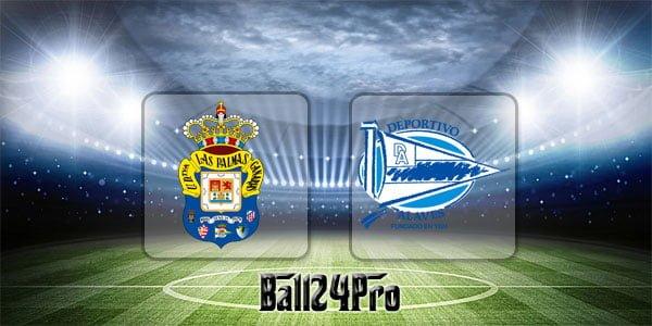 ไฮไลท์ฟุตบอล ลาลีกา ลาส พัลมาส 0-4 อลาเบส 22-4-2018