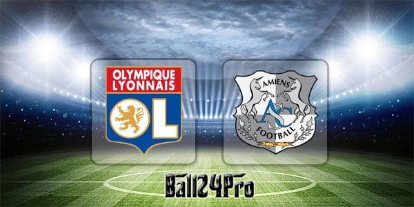 ไฮไลท์ฟุตบอล ลีกเอิง ลียง 3-0 อาเมียงส์ 14-4-2018