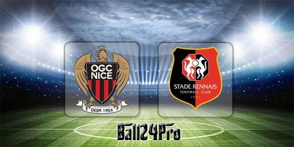 ไฮไลท์ฟุตบอล ลีกเอิง ฝรั่งเศส นีซ 1-1 แรนส์ 8-4-2018