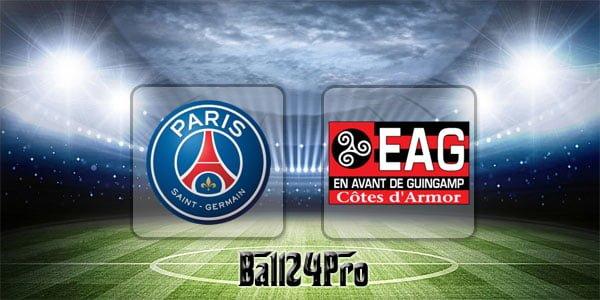 ดูบอลย้อนหลัง ลีกเอิง ปารีสแซงต์แชร์กแมง vs แก็งก็อง 29-4-2018