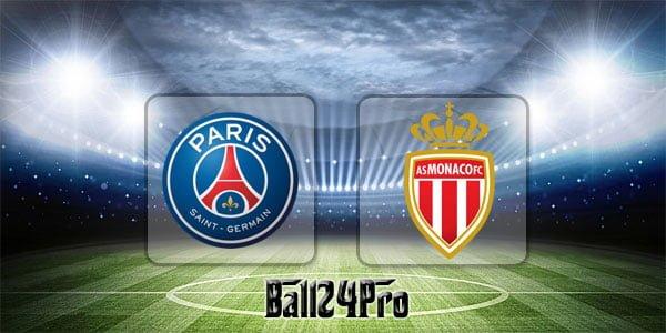 ดูบอลย้อนหลัง ลีกเอิง ปารีสแซงต์แชร์กแมง vs โมนาโก 15-4-2018