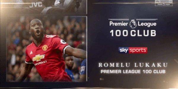 ไฮไลท์ฟุตบอล Premier League 100 Club – Romelu Lukaku 16-4-2018