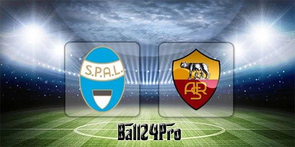 ไฮไลท์ฟุตบอล เซเรียอา อิตาลี สปอล 0-3 โรม่า 21-4-2018