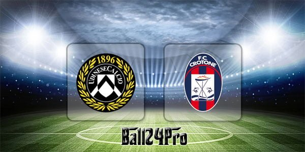 ไฮไลท์ฟุตบอล เซเรียอา อูดิเนเซ่ vs โครโตเน่ 22-4-2018