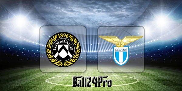 ไฮไลท์ฟุตบอล เซเรียอา อูดิเนเซ่ 1-2 ลาซิโอ 8-4-2018