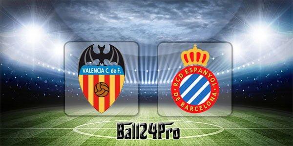 ไฮไลท์ฟุตบอล ลาลีกา บาเลนเซีย 1-0 เอสปันญอล 8-4-2018