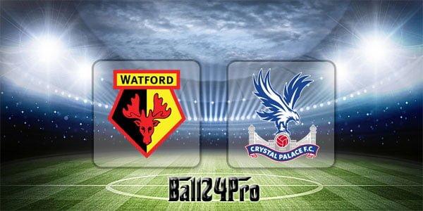 ไฮไลท์ฟุตบอล พรีเมียร์ลีก วัตฟอร์ด 0-0 คริสตัล พาเลซ 21-4-2018