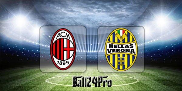 ดูบอลย้อนหลัง เซเรียอา เอซีมิลาน vs วโรน่า 5-5-2018
