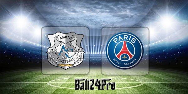 ไฮไลท์ฟุตบอล ลีกเอิง อาเมียงส์ vs ปารีสแซงต์แชร์กแมง 4-5-2018