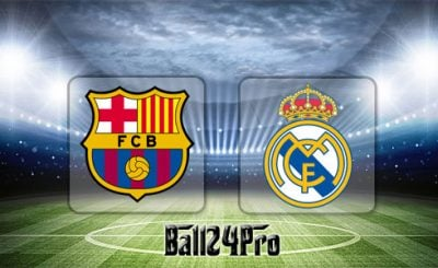 ดูบอลย้อนหลัง ลาลีกา สเปน บาร์เซโลน่า vs เรอัลมาดริด 6-5-2018