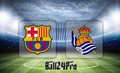 ดูบอลย้อนหลัง บาร์เซโลน่า vs เรอัลโซเซียดาด 20-5-2018