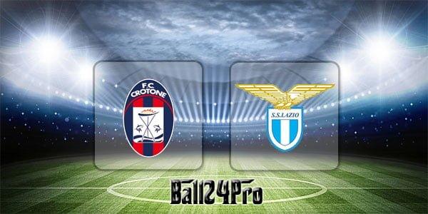 ไฮไลท์ฟุตบอล เซเรียอา โครโตเน่ 2-2 ลาซิโอ 13-4-2018