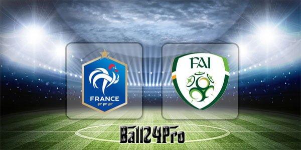 ดูบอลย้อนหลัง กระชับมิตร ฝรั่งเศส vs ไอร์แลนด์ 28-5-2018