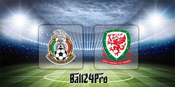 ไฮไลท์ฟุตบอล กระชับมิตร เม็กซิโก 0-0 เวลส์ 29-5-2018