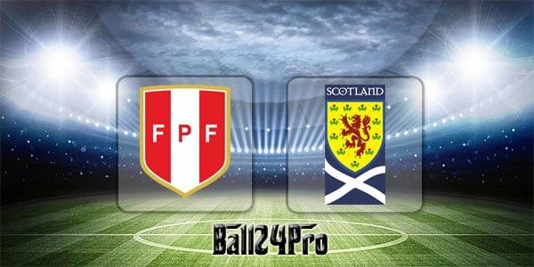ไฮไลท์ฟุตบอล กระชับมิตร เปรู 2-0 สกอตแลนด์ 30-5-2018