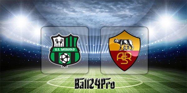 ดูบอลย้อนหลัง เซเรียอา ซาสซูโอโล่ vs โรมา 20-5-2018