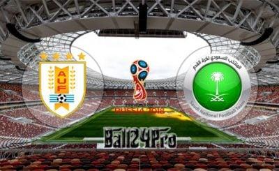 ดูบอลย้อนหลัง ฟุตบอลโลก 2018 อุรุกวัย vs ซาอุดิอาระเบีย 20-6-2018