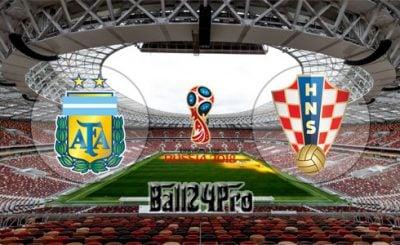 ดูบอลย้อนหลัง ฟุตบอลโลก 2018 อาร์เจนตินา vs โครเอเชีย 21-6-2018