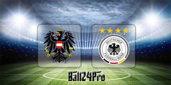 ไฮไลท์ฟุตบอล กระชับมิตร ออสเตรีย vs เยอรมัน 2-6-2018