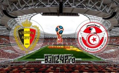 ดูบอลย้อนหลัง ฟุตบอลโลก 2018 เบลเยี่ยม vs ตูนิเซีย 23-6-2018