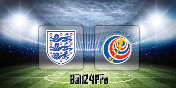 ดูบอลย้อนหลัง กระชับมิตร อังกฤษ vs คอสตาริกา 7-6-2018
