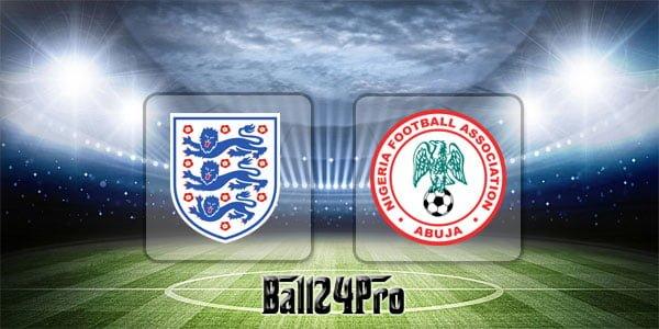 ดูบอลย้อนหลัง กระชับมิตร อังกฤษ vs ไนจีเรีย 2-6-2018