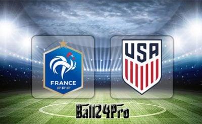 ดูบอลย้อนหลัง กระชับมิตร ฝรั่งเศส vs สหรัฐอเมริกา 9-6-2018