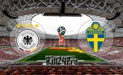 ดูบอลย้อนหลัง ฟุตบอลโลก 2018 เยอรมนี vs สวีเดน 23-6-2018