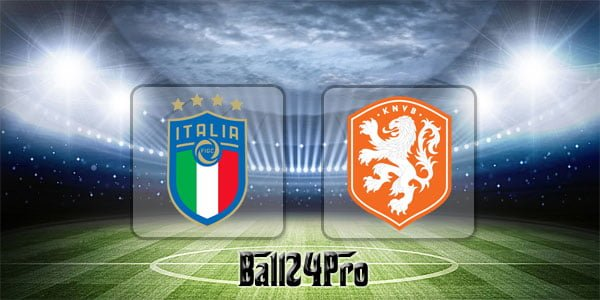ไฮไลท์ฟุตบอล กระชับมิตร อิตาลี 1-1 เนเธอร์แลนด์ 4-6-2018